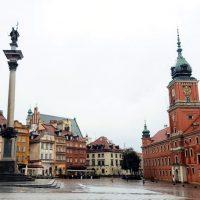 obiective turistice din Varșovia Plac Zamkowy Piața Palatului Palatul Regal