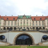 Zamek Krolewski - Palatul Regal (spate)